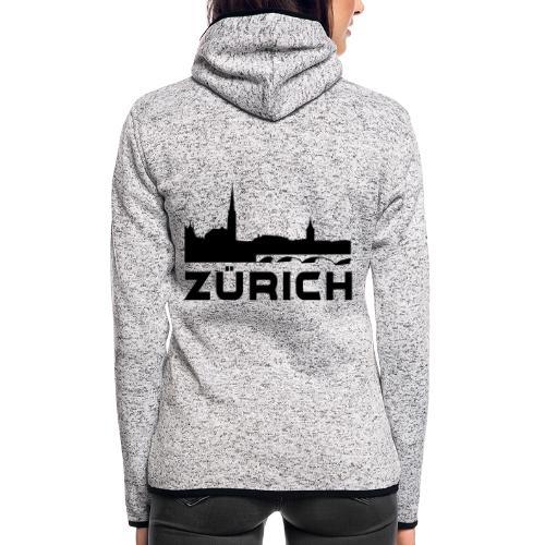 Zürich - Frauen Kapuzen-Fleecejacke
