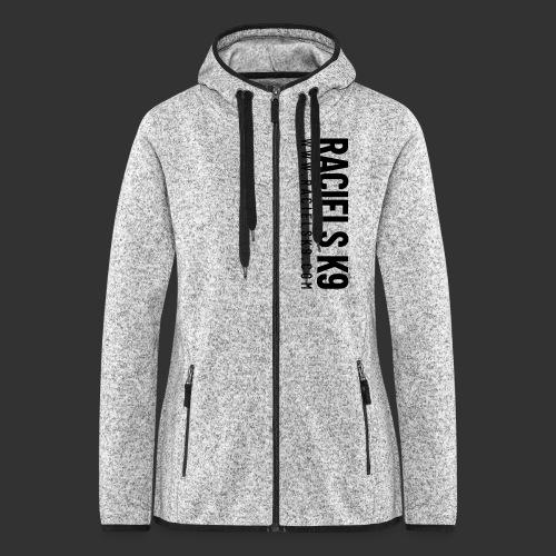 Raciels K9 TEXT & HEAD - Women's Hooded Fleece Jacket