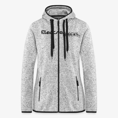 ElectroShocks BW siteweb - Veste à capuche polaire pour femmes
