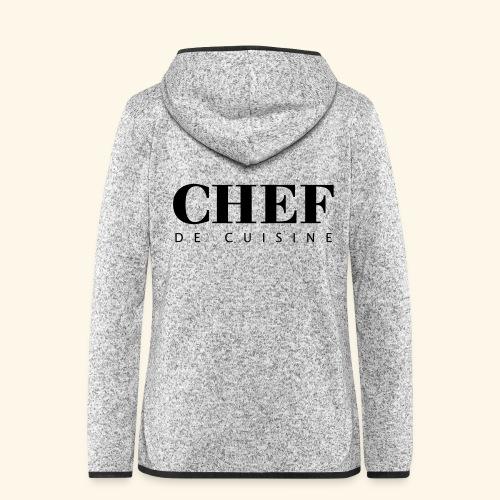 BOSS de cuisine - logotype - Women's Hooded Fleece Jacket