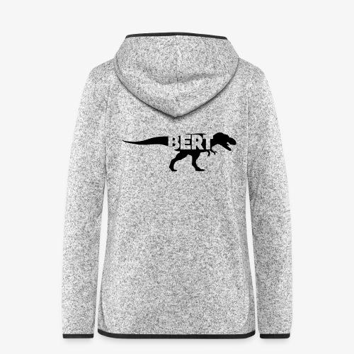 Bert dino - Vrouwen hoodie fleecejack