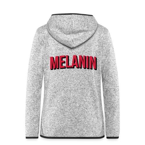 Melanin - Women's Hooded Fleece Jacket