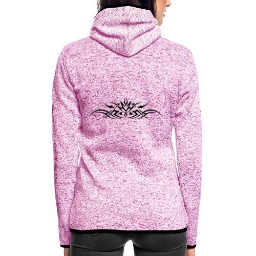 Motif Tribal 3 - Veste à capuche polaire pour femmes