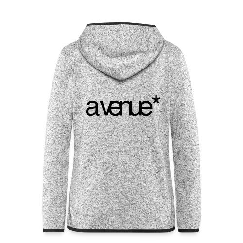 Logo AVenue1 80 - Vrouwen hoodie fleecejack