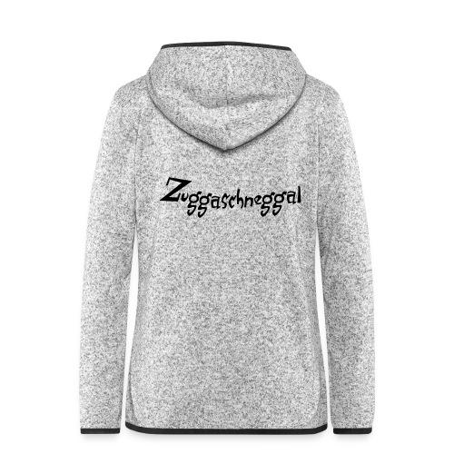 Zuckerschnecke - Frauen Kapuzen-Fleecejacke