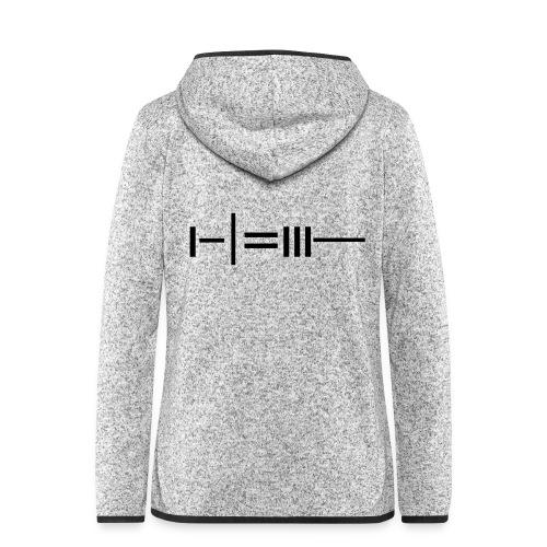 NEEDLE - Women's Hooded Fleece Jacket