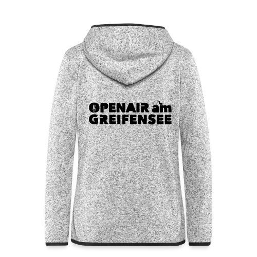 Openair am Greifensee 2018 - Frauen Kapuzen-Fleecejacke