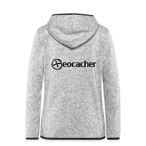 Geocacher - Naisten hupullinen fleecetakki