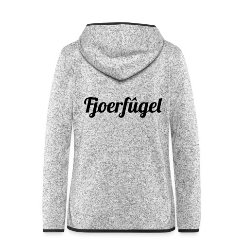fjoerfugel - Vrouwen hoodie fleecejack
