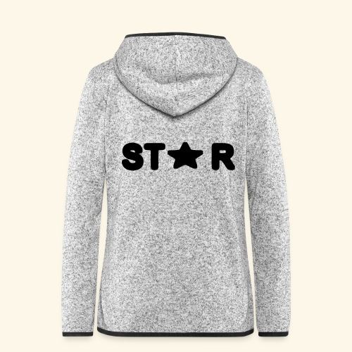Star of Stars - Women's Hooded Fleece Jacket