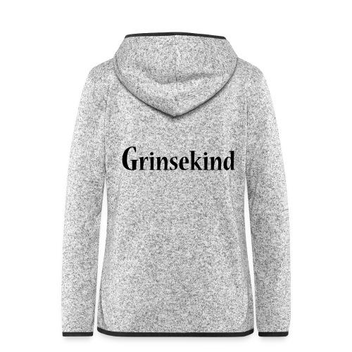 Grinsekind - Frauen Kapuzen-Fleecejacke