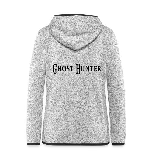 Ghost Hunter - Frauen Kapuzen-Fleecejacke