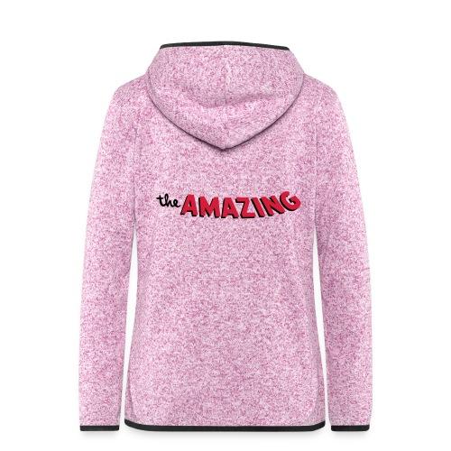 Amazing - Vrouwen hoodie fleecejack