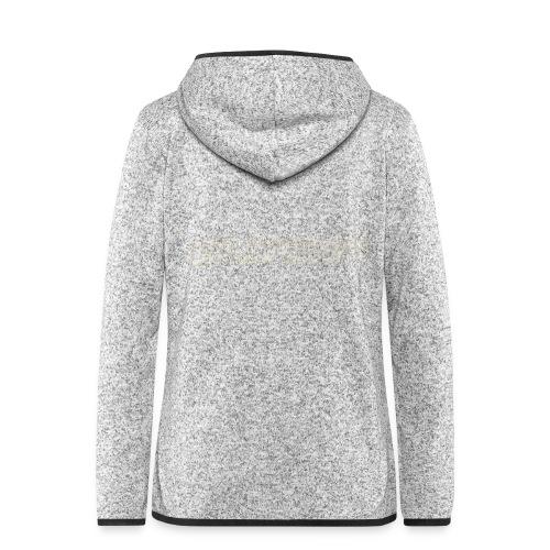 Hollyweed shirt - Veste à capuche polaire pour femmes
