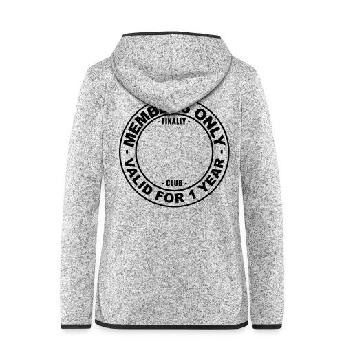 Finally XX club (template) - Women's Hooded Fleece Jacket