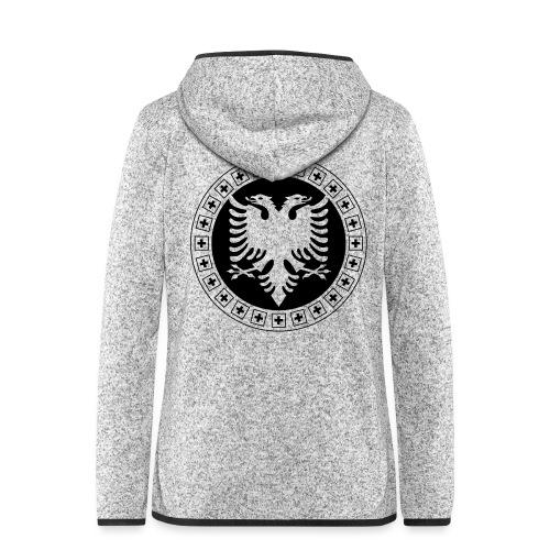 Albanien Schweiz Shirt - Frauen Kapuzen-Fleecejacke
