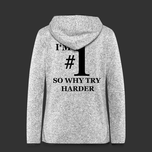 T-shirt, I'm #1 - Fleeceluvjacka dam