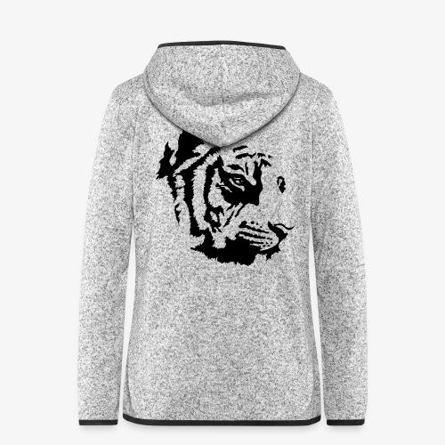 Tiger head - Veste à capuche polaire pour femmes
