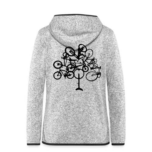 Treecycle - Women's Hooded Fleece Jacket