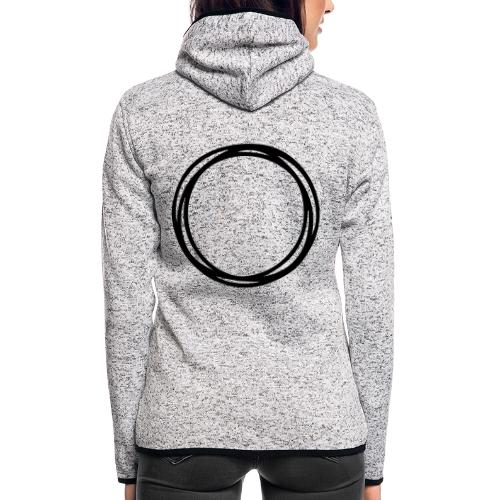 Circles and circles - Women's Hooded Fleece Jacket