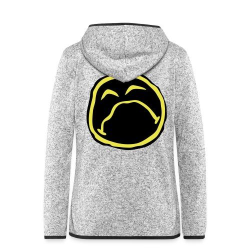 Droef Emoticon - Vrouwen hoodie fleecejack