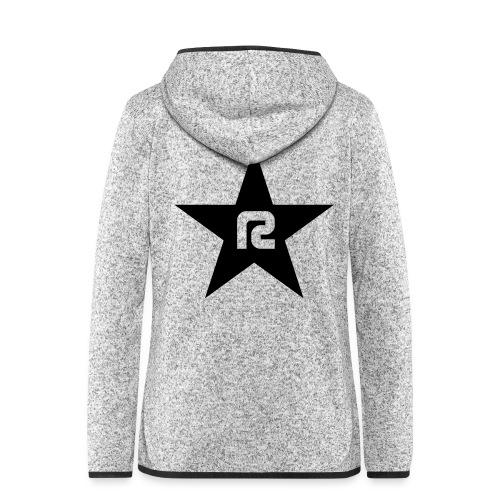 R STAR - Frauen Kapuzen-Fleecejacke