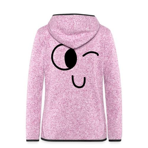 Jasmine's Wink - Vrouwen hoodie fleecejack