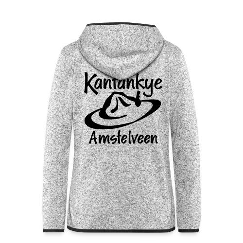 logo naam hoed amstelveen - Vrouwen hoodie fleecejack
