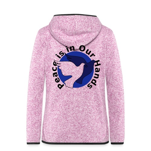 Peace Doves of South Africa - Women's Hooded Fleece Jacket