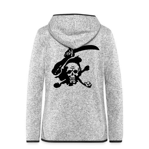 Skull Attack - Women's Hooded Fleece Jacket