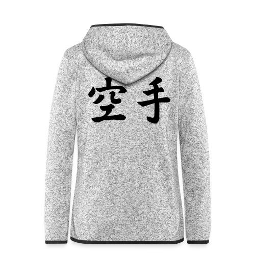 karate - Vrouwen hoodie fleecejack