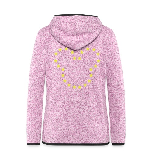 The European Kingdom™ - Women's Hooded Fleece Jacket