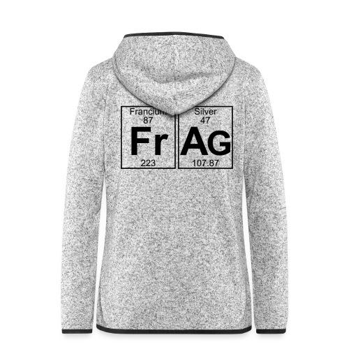 Fr-Ag (frag) - Full - Women's Hooded Fleece Jacket