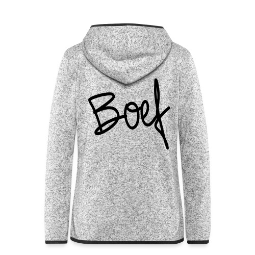 Boef - Vrouwen hoodie fleecejack