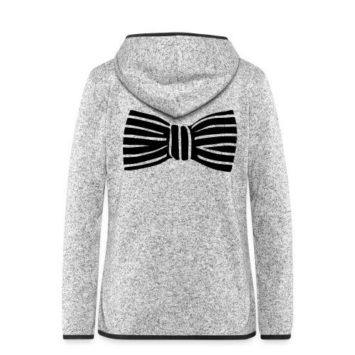 bow_tie - Women's Hooded Fleece Jacket