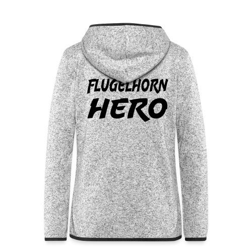 Flugelhorn Hero - Hette-fleecejakke for kvinner