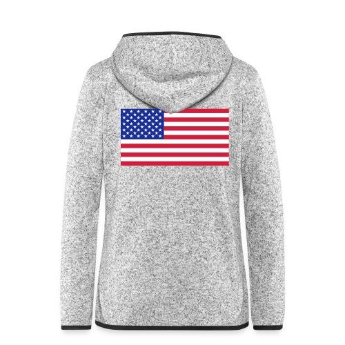 USA / United States - Vrouwen hoodie fleecejack