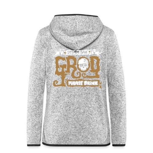 Scumm Bar Grog - Chaqueta de forro polar con capucha
