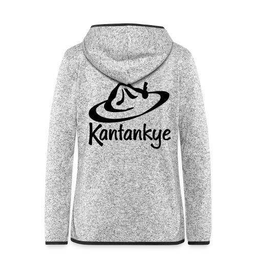 logo hoed naam - Vrouwen hoodie fleecejack