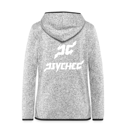 psyched-logo-finalwhite - Vrouwen hoodie fleecejack