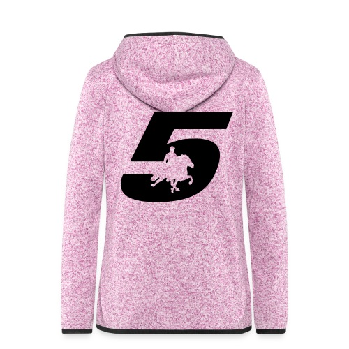 5 - Women's Hooded Fleece Jacket