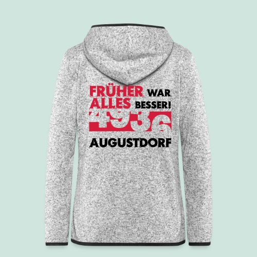 Früher 4936 Augustdorf - Frauen Kapuzen-Fleecejacke