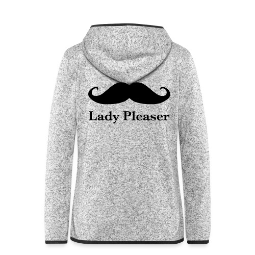 Lady Pleaser T-Shirt in Green - Women's Hooded Fleece Jacket