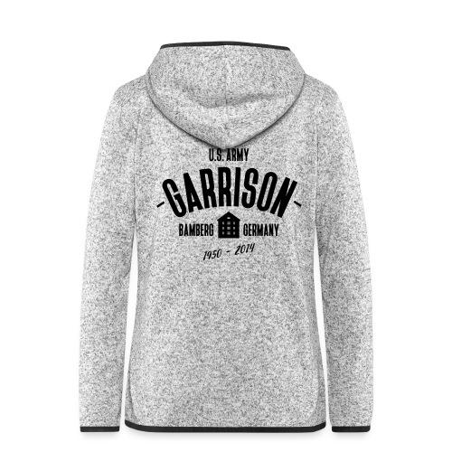 Garrison Bamberg - Frauen Kapuzen-Fleecejacke