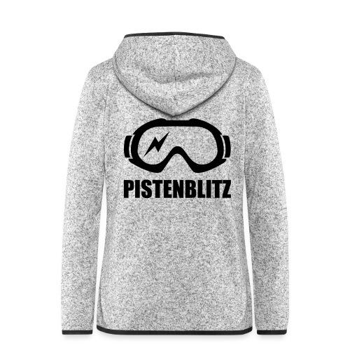 pistenblitz - Frauen Kapuzen-Fleecejacke