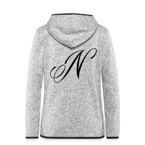 NUTTELOGO2NEW - Women's Hooded Fleece Jacket