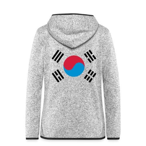 South Korea - Vrouwen hoodie fleecejack