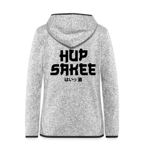 Hup Sakee - Vrouwen hoodie fleecejack