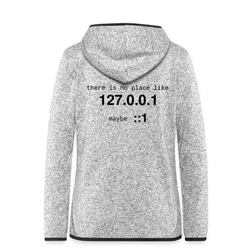 127-0-0-1-::1 - Veste à capuche polaire pour femmes
