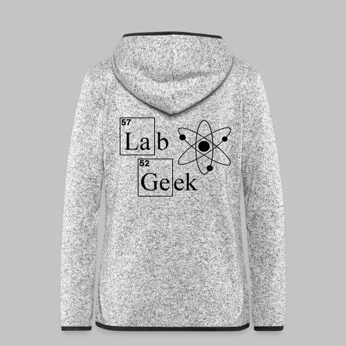 Lab Geek Atom - Women's Hooded Fleece Jacket